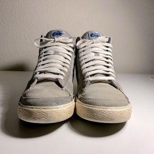 Vintage Grey suede Nike 6.0 Blazers Mid top